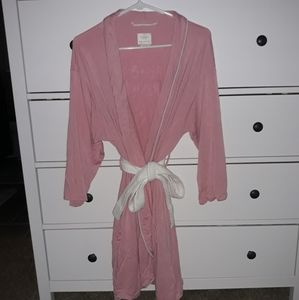 New Kate Spade Hello Sunshine Pink Robe-XS/S
